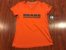 Nike Women's Chicago Bears Legend Wordmark NFL Football Jersey Shirt Medium M