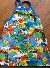 Little Bird By Jools Age 9-12 Months Sea Life  Dress  *** Bnwt ***