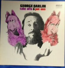 George Carlin- Take Offs & Put Ons on RCA CAS-2566, LP VG+, cover VG+