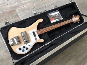 2021 Rickenbacker 4003S Bass - Mapleglo - New Natural Finish Fingerboard