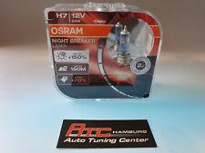 64210nbl NEUF!!! 130/% plus de lumière 2st OSRAM h7 12v 55w NIGHT BREAKER laser
