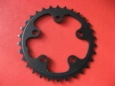plato Bicicleta De Carreras Aluminio 30 Zähne 74mm negro 5 Brazo NUEVO