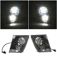 For Volvo Vn Vnl 03 17 Fog Light Lamp 12 Led Bumper Driver Amp Passenger Pair Set