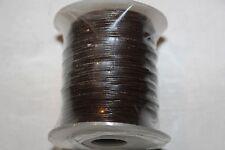 0.5mm * Genuine Leather * 100 Meter/Spool - Red Brown * Grl - Series - India