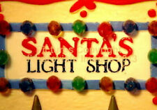 Dept 56 North Pole Santa'S Light Shop! 56397 NeW! Mint! FabUloUs!