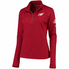 Arizona Cardinals Nike NFL Women's Tailgate Element Quarter Zip Pullover L NWT