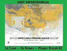 Tim Howard Everton 2020 Panini Impeccable 1X Case 3x BOX PLAYER BREAK #2