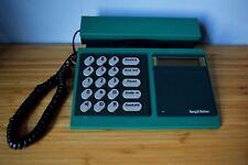 1986 B&O Bang & Olufsen Beocom 2000 Danish Design 2-Tone Green Telephone Works