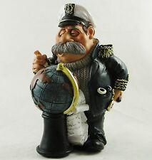 Le navi mare CAPITANO figurina Globo con figura Marinaio Nautico Statua cake topper