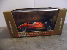 1/43ème BRUMM Série Oro n°143 – Ferrari 126 C4 F1 – 1984 (n°28 Arnoux)