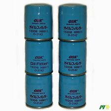 6 units OSK Oil Filter suit Z145 for Nissan Pulsar Vanette Maxima EFI