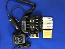 Aa/Aa/9V Fast Charger(Ac/Dc)Ul + 9 of Hitech Rechargeable Aa,Aaa,9v*Sale*