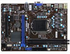 MSI B75MA-E33 LGA1155 Intel B75 USB3.0 SATA3 DDR3 Micro ATX Motherboard