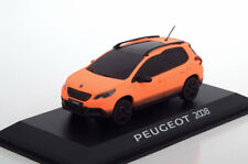 PEUGEOT 2008 ORANGE MATT SALON DE GENEVE 2013 1/43 AUTOMOBILE NOREV 479833