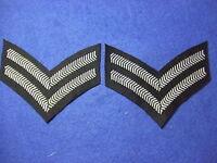 RAF/ROYAL AIR FORCE & RAF REGIMENT CORPORALS RANK STRIPES, CHEVRONS, PAIR