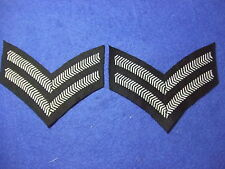 RAF/ROYAL AIR FORCE & RAF REGIMENT CORPORALS RANK STRIPES, CHEVRONS, PAIR