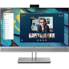 "HP EliteDisplay E243m 23.8"" FHD Webcam Speaker IPS Monitor VGA HDMI Display Port"