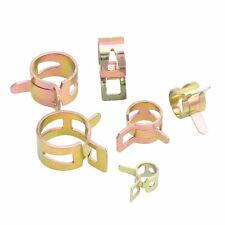 60pcs Spring Clip Fuel Oil Water Hose Pipe Tube Clamp Fastener 12-22mm 6 Sizes