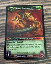 WoW TCG DOOM COMMANDER ZAAKUUL - Light Play - World of Warcraft