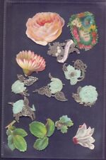 A Nice lot of Vintage miniature Scraps,space fillers all scanned   (SB82)