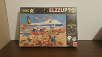 """elzzup """"bonne vacance """" 1000 piece puzzle **SEALED** FRENCH VARIANT"""