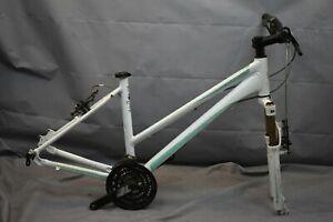 "2012 Giant Liv Revel 2 MTB Bike Frame 18"" Large Hardtail SRAM Suntour US Charity"