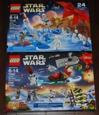 LEGO LOT OF 2 STARWARS Advent Calendars *NEW/SEALED* 75097,75146 from 2015, 2016