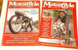 The Classic Motorcycle Magazine Zeitschrift  1989