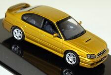 Autoart 1/43 SCALA 58611 SUBARU LEGACY B4'99 Oro Modello Diecast Auto