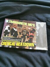 ULTRAMAGNETiC MC'S - CRiTiCAL BEATDOWN CD 2004 BONUS TRACKS RE iSSUE HiP HOP RAP