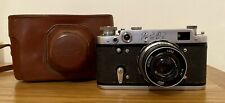 FED 2 Type D Vintage Russian Camera With 52mm Lens & Original Leather Case