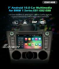 RADIO BMW ANDROID 1 SERIE 10 E81 E82 E88 4GB RAM GPS WIFI OCTACORE  BLUETOOTH