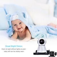 Baby Monitor Mount Bracket Adjustable 360°Rotatable Video Camera Holder