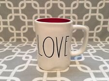 "Rae Dunn By Magenta "" Love "" Valentines Day Mug Cup. New!!"