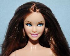 ALLURING! Brunette Hair Model Muse NUDE w/ Blue Eyes Genuine BARBIE