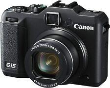 Canon Powershot G15   13 MP   5 x Optical Zoom Foto Camera Kamera Compackt CAM