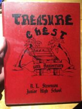 1986 Stevenson Junior High School YEARBOOK East Los Angeles California CA Jr LA
