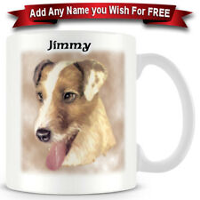 Jack Russell Terrier Wire Haired - Dog Ceramic Coffee Mug - Personalise for free