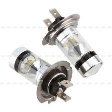 2x H7 6000K 100W Xenon HID LED Nebelscheinwerfer Tagfahrlicht Birne Nachrüstsatz
