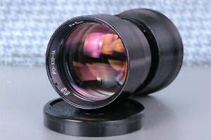 RO 109-1A 1,2/50 50mm F1.2 lens, adapter for Micro 4/3, Soviet Lens