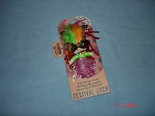 """WATCHOVER VOODOO  """"FESTIVAL GOER""""  KEYCHAIN DOLL   NWTS"""