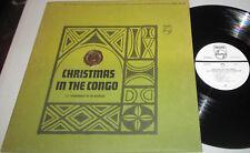 "Les Troubadours Du Roi Badouin-""Christmas in The Congo"" 1963 STEREO WL-PROMO LP!"