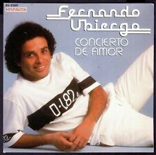 "Fernando ubiergo-spain 7"" HISPAVOX 1982-Concert of love/te amare"