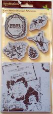 Recollections  Rubber Cling  Christmas Stamps( New Line)  NIP