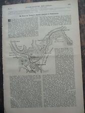 1889 Bruch der Talsperre Johnstown Pennsyvania USA