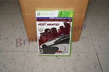 Need for Speed Most Wanted Édition Limitée Xbox 360 Nouveau Scellé