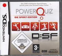 Powerquiz - Die Sport-Edition  ( Nintendo DS )