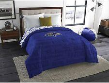 Baltimore Ravens Twin Full Size Bedroom Bedding Comforter NFL Sports Blanket New