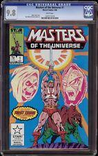 Masters of the Universe # 1 CGC 9.8 White (Marvel 1986) He-Man & MOTU start