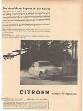 CITROEN ID / DS 19 / 21 - KONVOLUT -  historische Reklame - vintage adverts  -